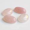 Кабошон овальный Кварц розовый, 25х18х7 мм