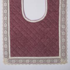 Элитный коврик для унитаза Buratto розовый от Old Florence