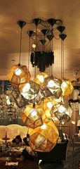 люстра TOM DIXON ETCH 9 lamps