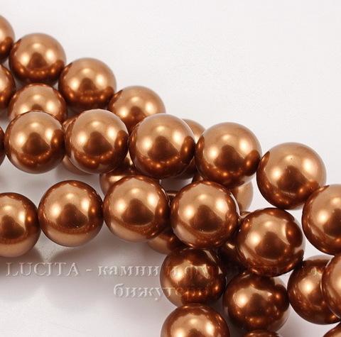 5810 Хрустальный жемчуг Сваровски Crystal Copper круглый 10 мм (Crystal Copper 1)