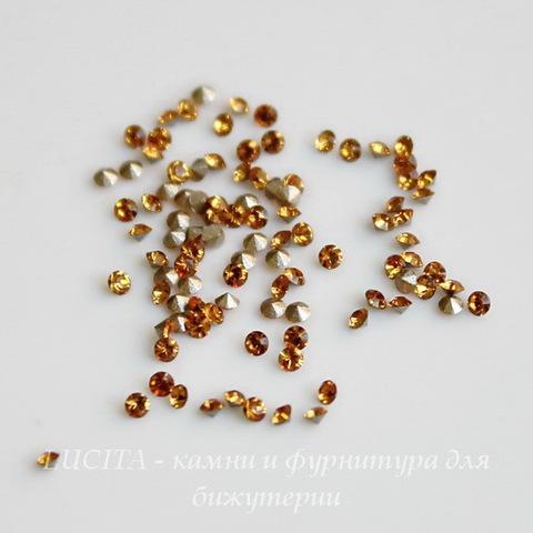 1028 Стразы Сваровски Topaz PP 6 (1,3-1,35 мм), 20 штук ()