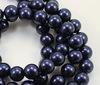 5810 Хрустальный жемчуг Сваровски Crystal Night Blue круглый 8 мм , 5 шт