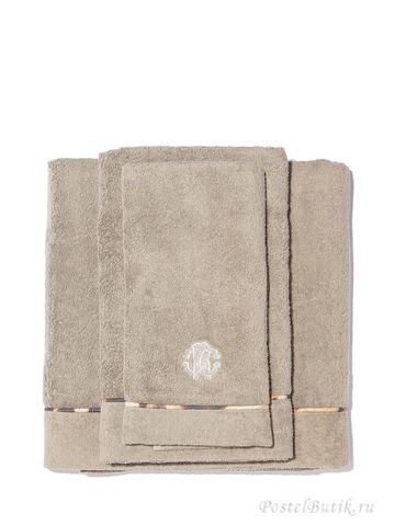 Набор полотенец 3 шт Roberto Cavalli Basic какао