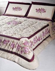 Постельное белье 2 спальное евро макси Cassera Casa Musa голубое