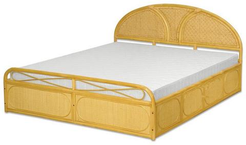 """Плетеная двуспальная кровать """"Венера"""""""