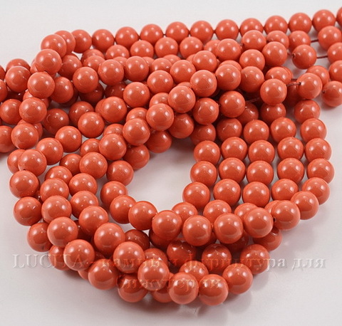 5810 Хрустальный жемчуг Сваровски Crystal Coral круглый 10 мм (Crystal Coral 2)