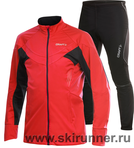 Лыжный костюм Craft PXC High Performance Storm мужской красный