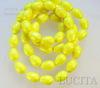 5821 Хрустальный жемчуг Сваровски Crystal Neon Yellow грушевидный 11х8 мм ()
