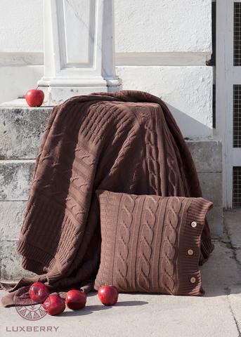 Плед-покрывало 150х200 Luxberry Imperio 233 коричневое