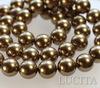 5810 Хрустальный жемчуг Сваровски Crystal Antique Brass круглый 12 мм (Crystal Antique Brass 1)