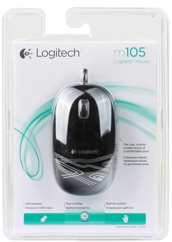 LOGITECH M105 USB Black [71057]