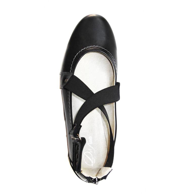 521269 туфли женские больших размеров марки Делфино