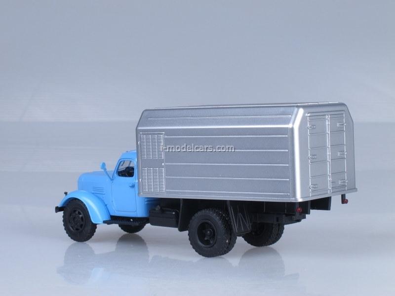 ZIL-164 LuMZ-890B blue-silver 1:43 AutoHistory