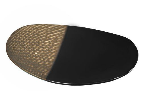 Блюда и тарелки Блюдо декоративное Copperfield коричневое от Sporvil blyudo-dekorativnoe-copperfield-ot-sporvil-iz-portugalii-2.jpg