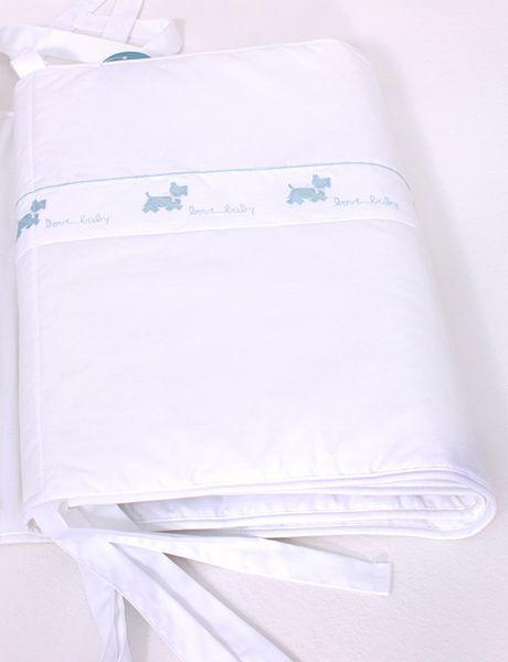 Бамперы Бампер для детской кроватки Собачки белый от Bovi bamper-dlya-detskoy-krovatki-sobachki-bovi-portugaliya.jpg