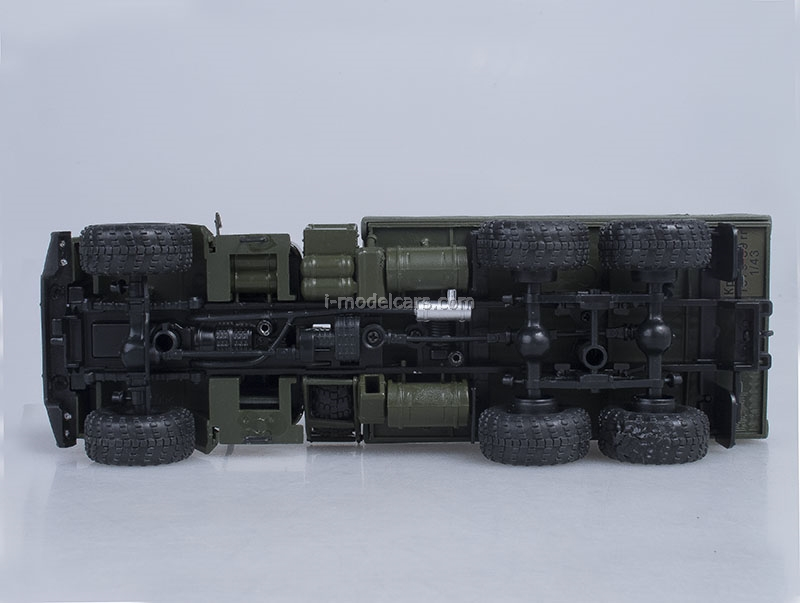 KRAZ-260 1979 green 1:43 Nash Avtoprom