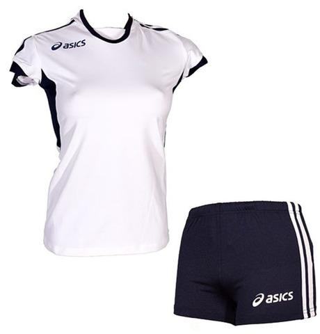 Форма волейбольная Asics Set Azzurra White Жен