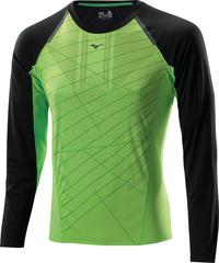Мужская беговая рубашка Mizuno Drylite Premium L/S Tee (J2GA4501 93)