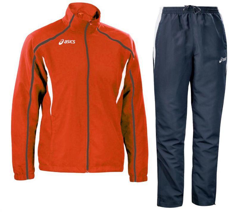 Костюм спортивный Asics Suit Event красный мужской
