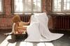 Элитное одеяло легкое 200х220 Linenwash от German Grass