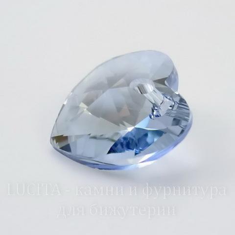 6228 Подвеска Сваровски Сердечко Crystal Blue Shade (14,4х14 мм) ()