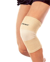 Бандаж на колено эластичный с метал. спиральными ребрами (coolmax) арт. MKN-103 (M)