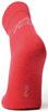 Термоноски утепленные с шерстью мериноса Norveg Soft Merino Wool Red детские