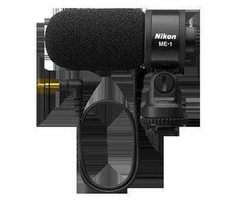 �������� Nikon ME-1 ��������� �� ����� ����������� � ����������������� �������� Nikon: D7000, D7100, D5100, D5200, D3200, D3100, D90,