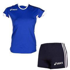 Форма волейбольная Asics Set Azzurra Blue Жен