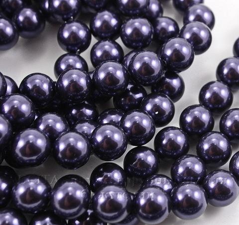 5810 Хрустальный жемчуг Сваровски Crystal Dark Purple круглый 10 мм