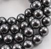 5810 Хрустальный жемчуг Сваровски Crystal Dark Grey круглый 8 мм , 5 шт