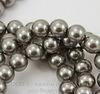 5810 Хрустальный жемчуг Сваровски Crystal Grey круглый 10 мм (Crystal Grey 2)