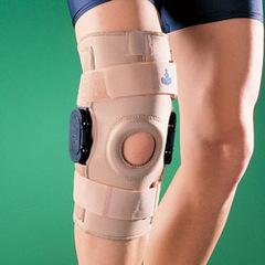 Ортез коленный ортопедический с боковыми шарнирами