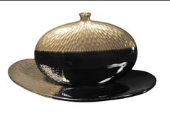 Блюдо декоративное Copperfield коричневое от Sporvil
