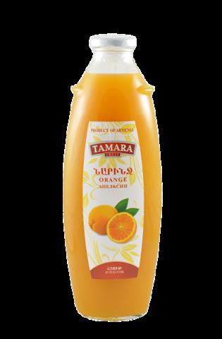 Нектар Tamara апельсиновый, 1л