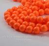 5810 Хрустальный жемчуг Сваровски Crystal Neon Orange круглый 8 мм , 5 шт (Crystal Neon Orange 2)