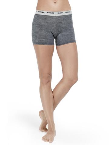Термошорты Norveg Soft Shorts женские серые