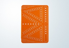 Чехол The Core Polka Dot Case Orange Оранжевый для iPad Air