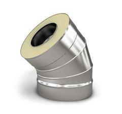Отвод-сэндвич 135 TMF СУПЕР ф200/300, 0,8/0,5 мм, н/н