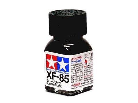 XF-85 Краска Tamiya Черная Резина Матовая (Rubber Black), эмаль 10мл