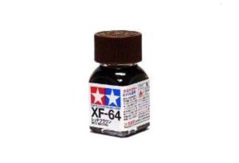XF-64 Краска Tamiya Красно-коричневый Матовая (Red Brown), эмаль 10мл