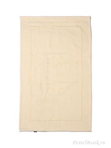 Элитный коврик для ванной Logo кремовый от Roberto Cavalli