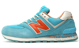 Кроссовки Женские New Balance 574 Blue Orange