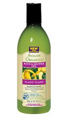 Гель для ванны и душа с маслом иланг-иланг, Avalon Organics