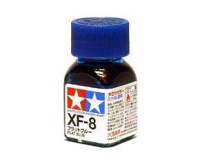 XF-8 Краска Tamiya Синяя Матовая (Flat Blue), эмаль 10мл
