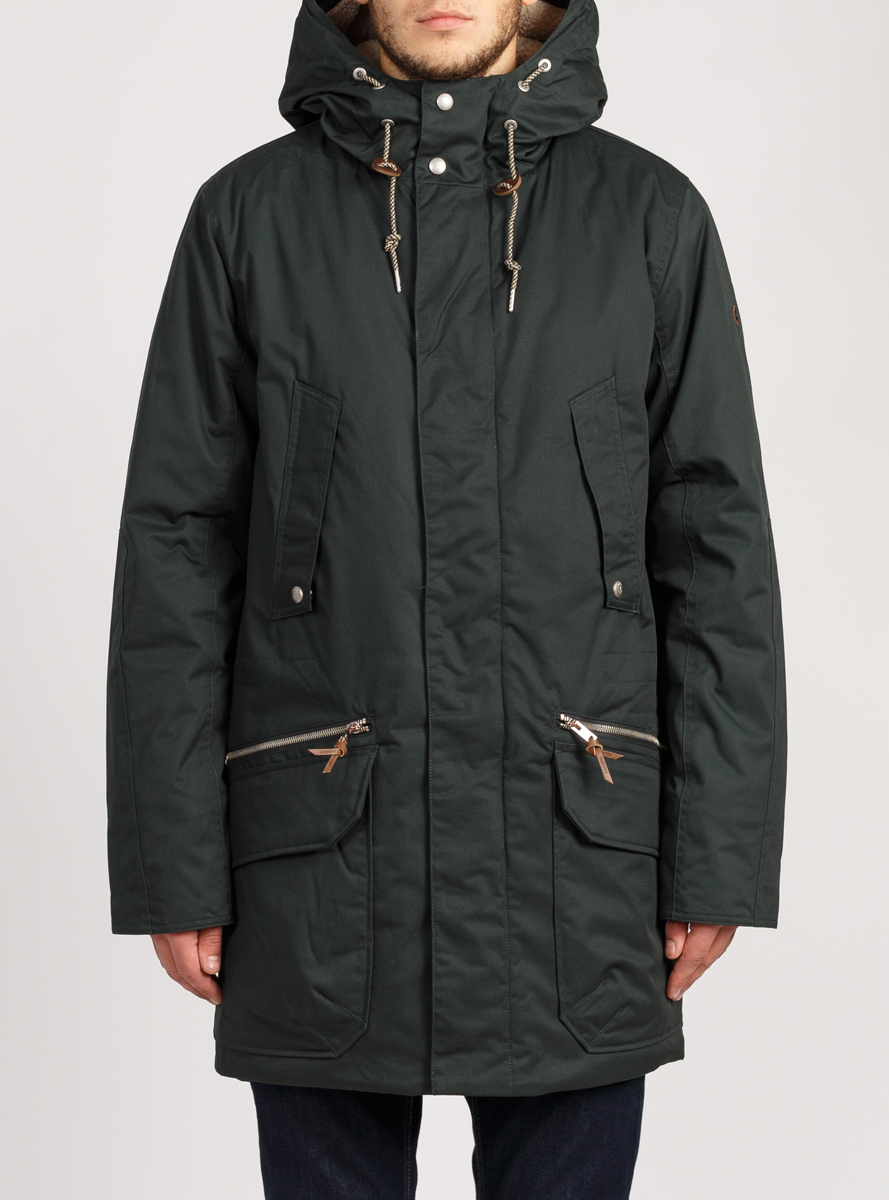 Куртка парка LOADING (1315-2)  Темно-зеленый