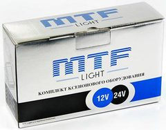 Комплект ксенона MTF Light HB3 (9005) (4300K) с колбами Philips