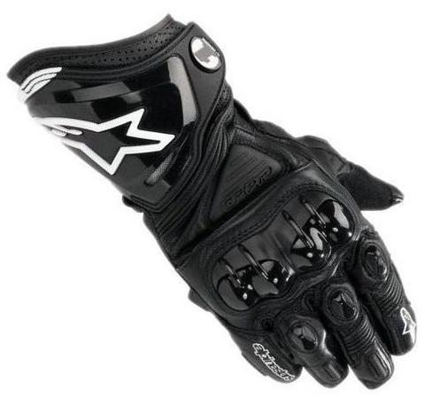 Мотоперчатки - ALPINESTARS GP PRO (черные)