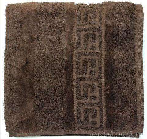 Полотенце 30x30 Cawo Noblesse 1001 темно-коричневое
