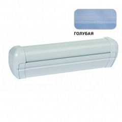 Маркиза настенная с мех.приводом DOMETIC Premium DA2040, цв.корп.-белый, ткани-голубой, Ш=4,05м